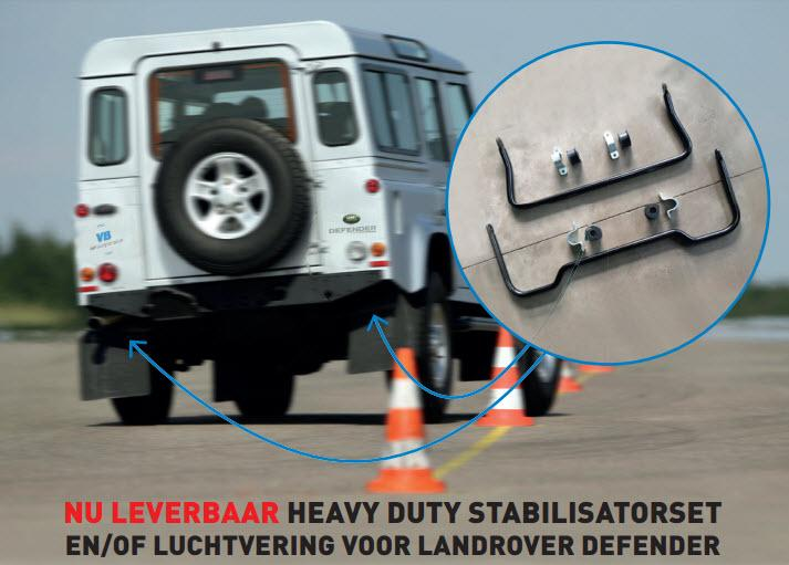 Heavy duty stabilisatorset Defender